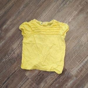Ruffled shirt